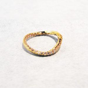 18金ダイヤモンドエンゲージマリッジリング