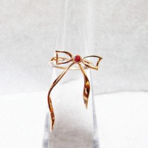 誉ノ錺で販売しているピンクゴールドの指輪